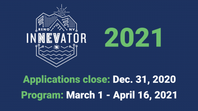 2021 InNEVator application Banner. All information in text below.