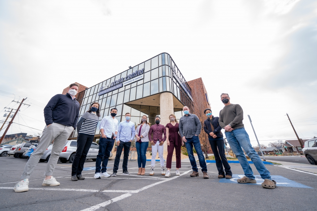 The InNEVator Spring 2021 cohort at the Innevation Center Image by Darius Riley via HOUR VOYSES
